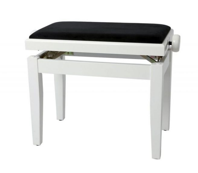 GEWApure Piano bench FX white highgloss