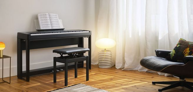 ES920 with stand and pedals