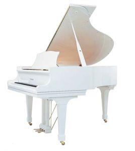 GL-10 WH/P Grand Piano